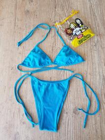 371e64485 Biquini Azul Mulher Marcyn - Moda Praia no Mercado Livre Brasil