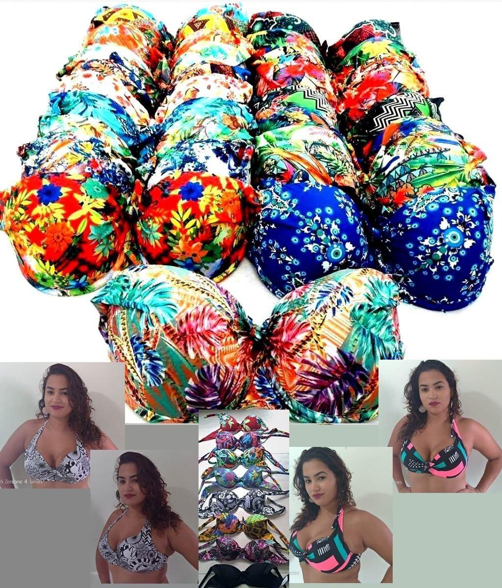 47e165f49e0b Biquíni Bojo Plus Size - Tamanho 48 Até 58 - R$ 39,89 em Mercado Livre