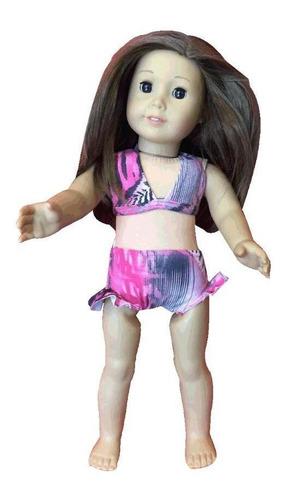 biquíni boneca zebra rosa