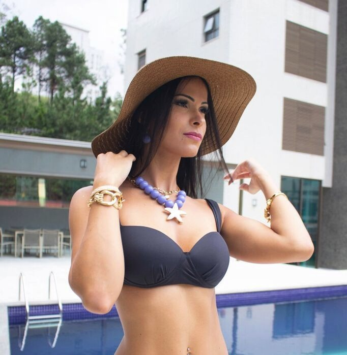 d1aad5125 Biquini Busto Reforçado Avulso Plus Size Pronta Entrega! B17 - R  80 ...