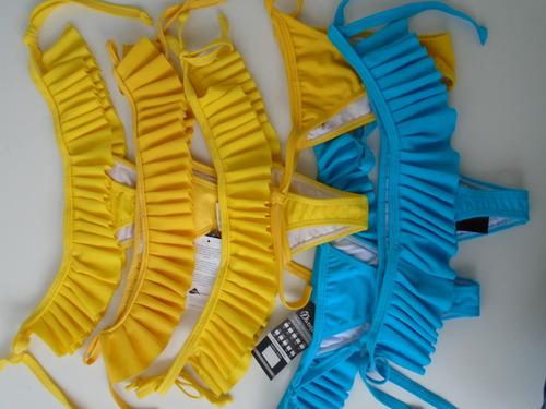 biquíni calcinha - diversas saldo coleção passada 50 peças