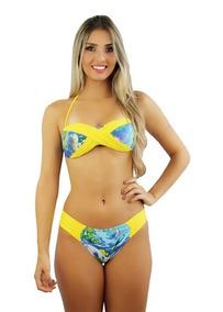 a29a77e58e19 Biquinis Ofertas - Moda Praia com o Melhores Preços no Mercado Livre Brasil