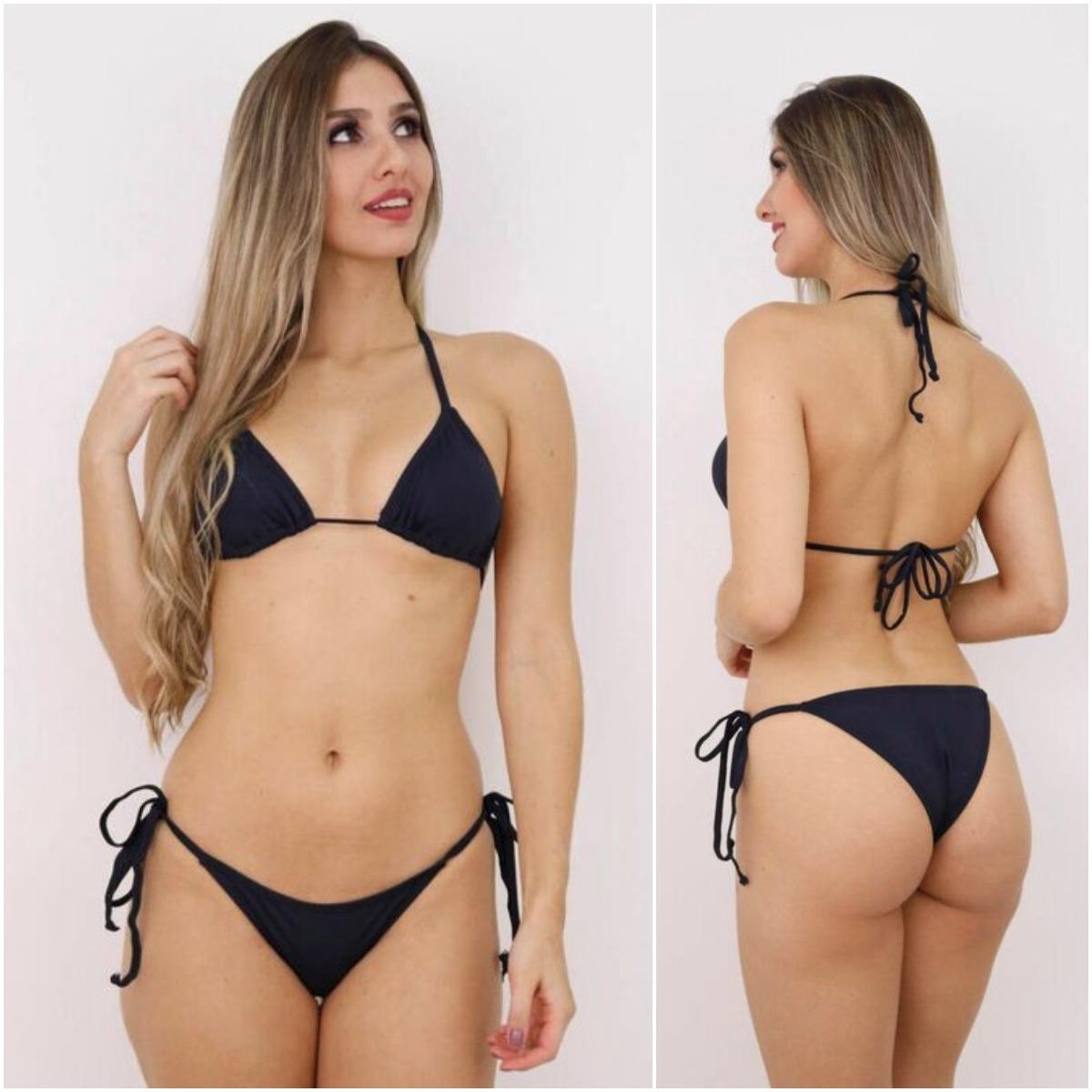 430ec73f1 Biquíni Cortininha Colorful Feminino Moda Praia Verão B12 - R$ 99,90 ...
