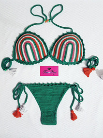 5c2faca05 Biquini Tina Kari Mulher - Biquinis no Mercado Livre Brasil