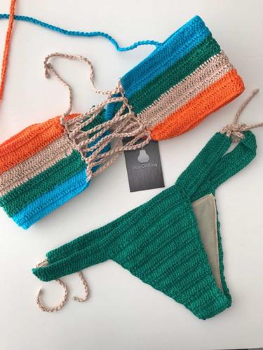 biquíni de crochê conjunto ( com bojo)