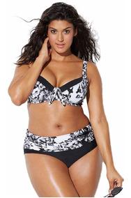 dc6b13bc5c3c Maiô Para Gordinhas, Modelo Plus Size Mulher - Moda Praia com o ...