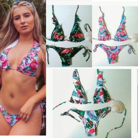 257bfb96333b Biquini Estampa Flamingo Biquinis Feminino - Moda Praia com o Melhores  Preços no Mercado Livre Brasil