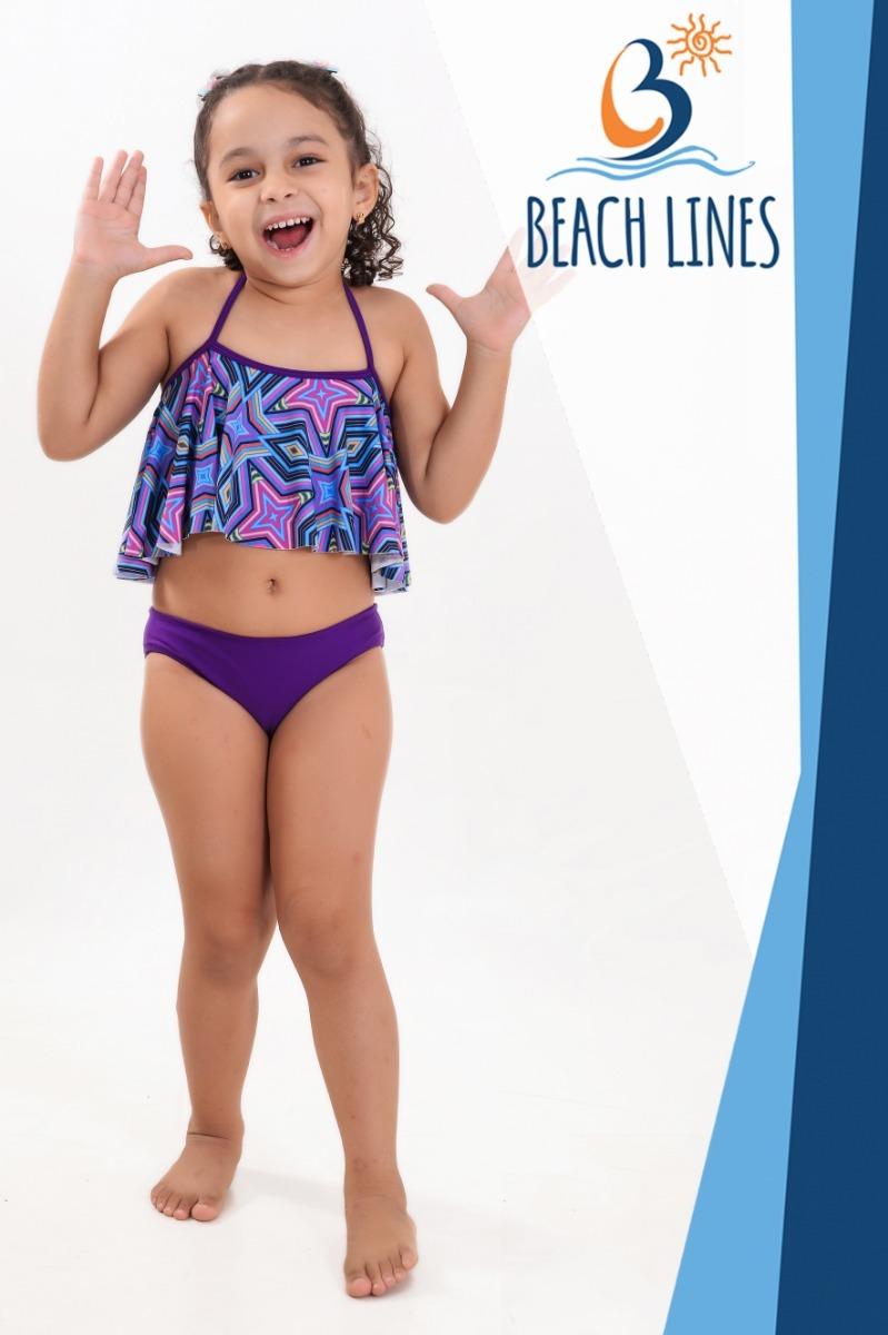 801c0e1851e9 Biquíni Infantil Moda Praia_ Verão 2019_promoção - R$ 35,00 em ...