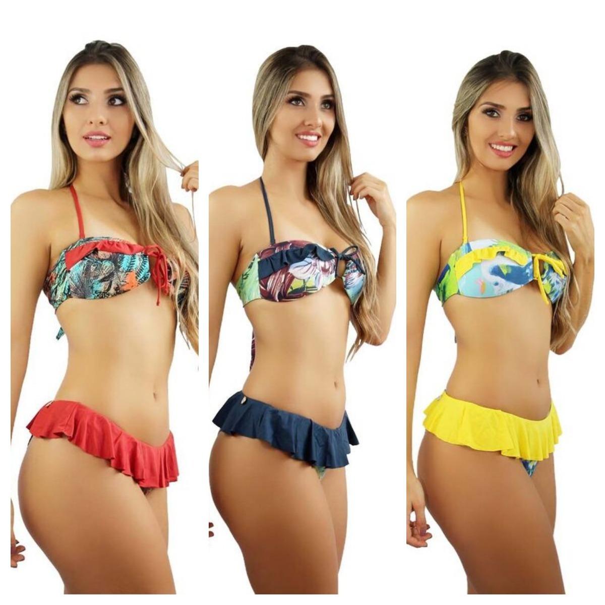 e3a3785e2ff biquini panicat babados moda praia 2019 y2 oferta de verão. Carregando zoom.