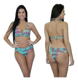 35aea0d32d34 Biquini Frente Única Plus Size - Moda Praia com o Melhores Preços no  Mercado Livre Brasil