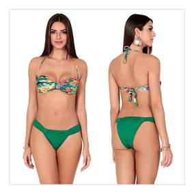 35d27e70a Biquini Tomara Que Caia Com Argola Verde Agua - Moda Praia com o ...