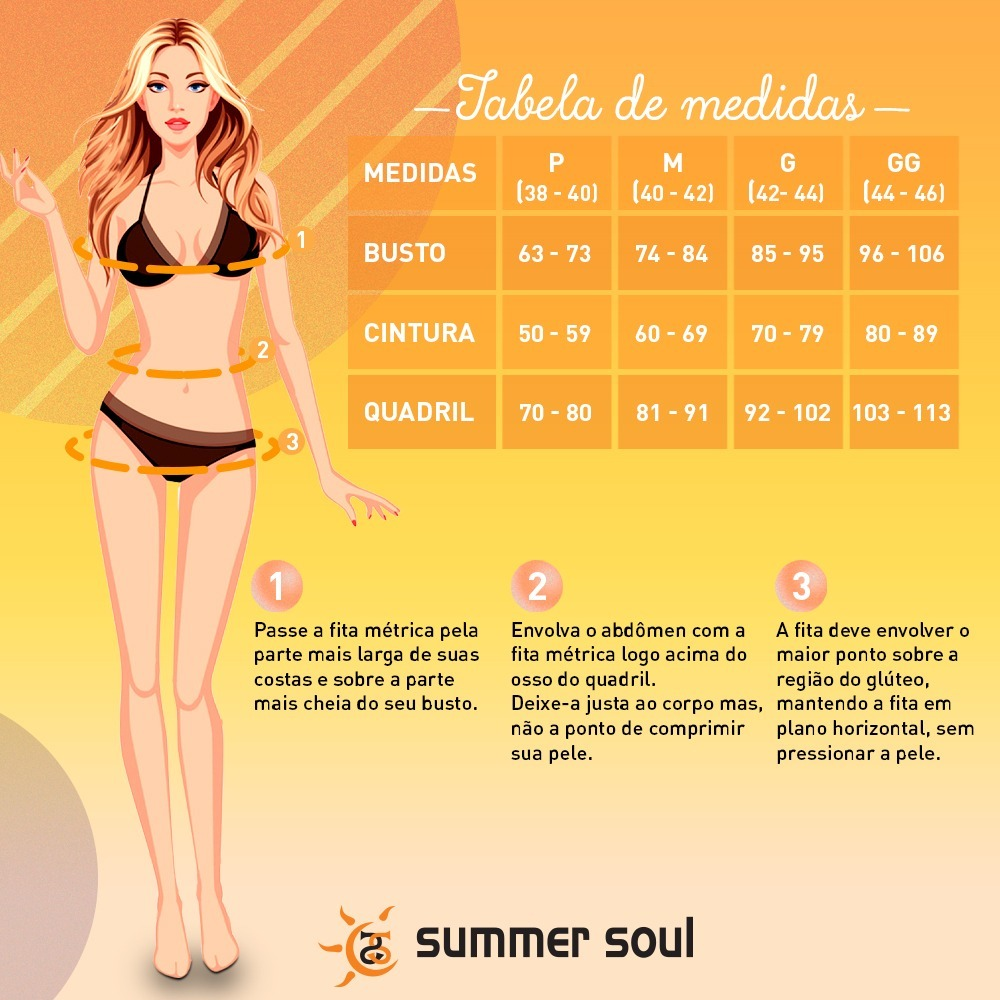 5568d80dd Biquíni Tomara Que Caia Summer Soul Preto Moda Praia 2019 - R  99