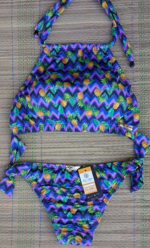 biquíni top cropped (com bojo) calcinha ripple empina bumbum