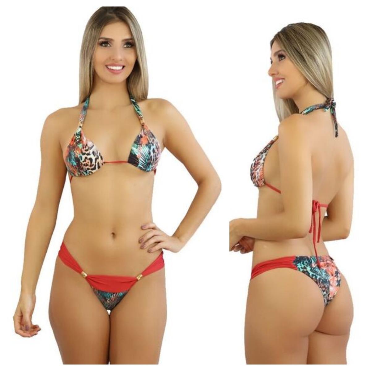 979a6b41e36 Biquinis 2018 Moda Praia Biquinis Baratos- Biquini Cl  50 - R  68