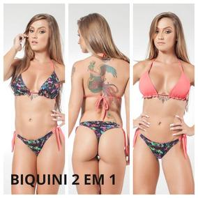 1449e22b5 Biquini Moda Blogueira - Biquinis Femininas no Mercado Livre Brasil