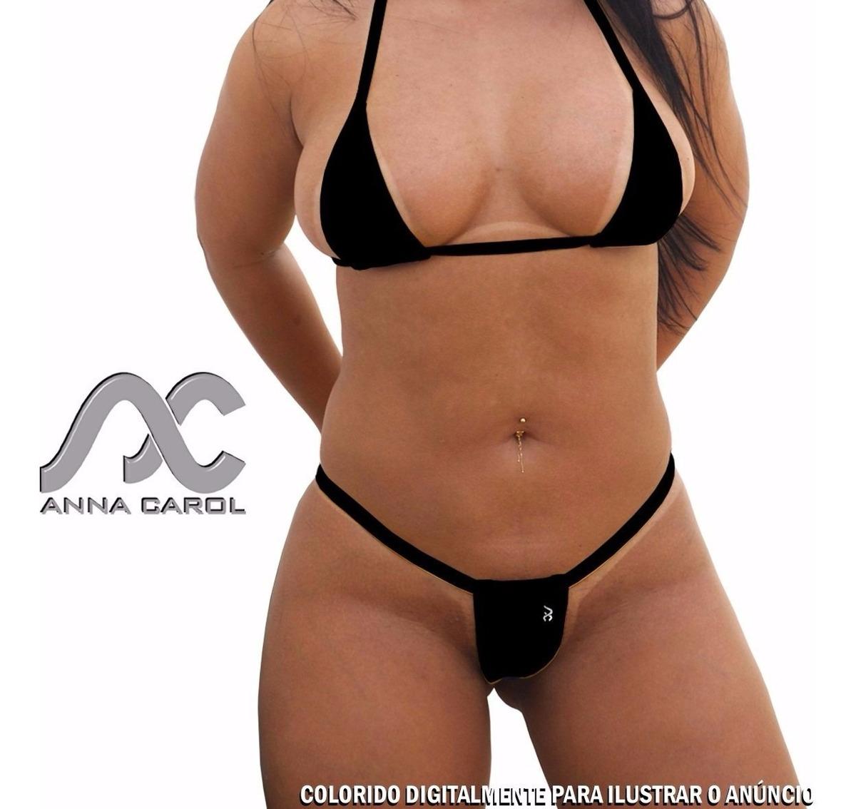 21be2927999d93 Biquinis Anna Carol Micro Fio Dental Cortininha Sexy Micro3