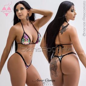 70be3e1edfc48f Calcinha Avulsa Bikinis Anna Carol Micro 3 M Cintura Fixa - Calçados ...