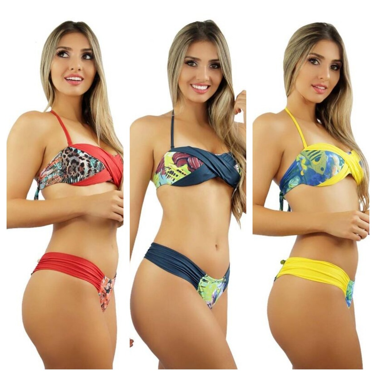 0f18874f1b31 Biquinis Cropped Bojo Etnico Moda Praia Biquinis Barato L2