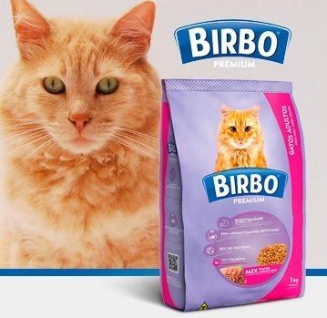 birbo premium gato mix 7 kg - kg a $1