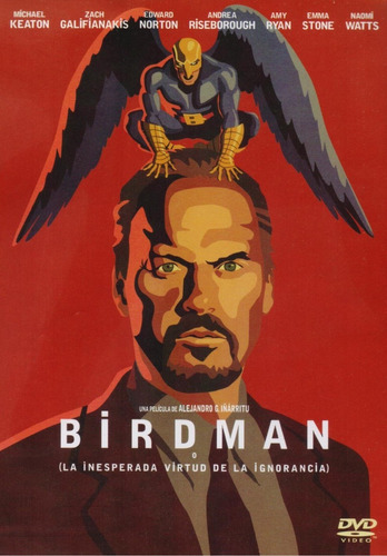 birdman inesperada virtud 2014 edward norton pelicula dvd