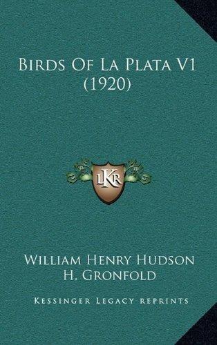 birds of la plata v1 (1920) : william henry hudson