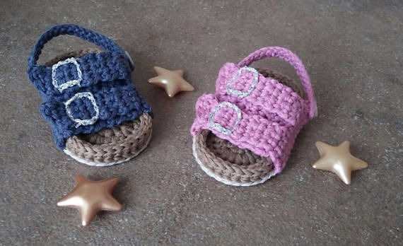 b891258e5 Birkenstock Para Bebe A Crochet -   399