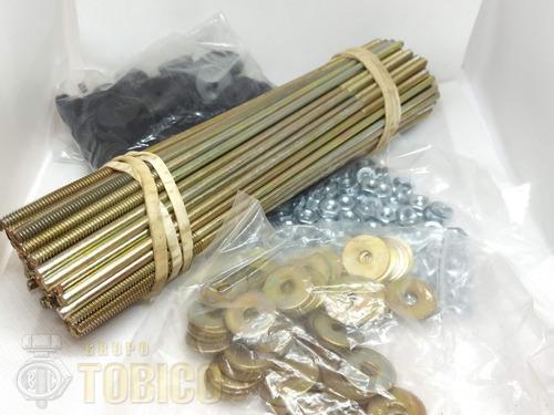 birlo para lamina 3/16 x 16  c/accesorios (100 piezas)
