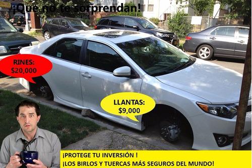 birlos de seguridad - honda accord 2013 - 16 ! envío gratis!