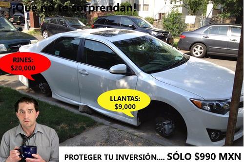 birlos de seguridad vw beetle - envío gratis!