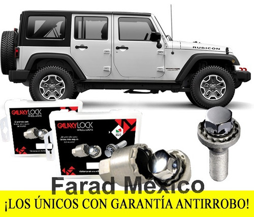 birlos seguridad jeep wrangler jk unlimited sport 4x4