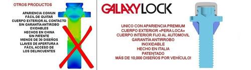 birlos seguridad koleos iconic galaxy lock garantia antirobo