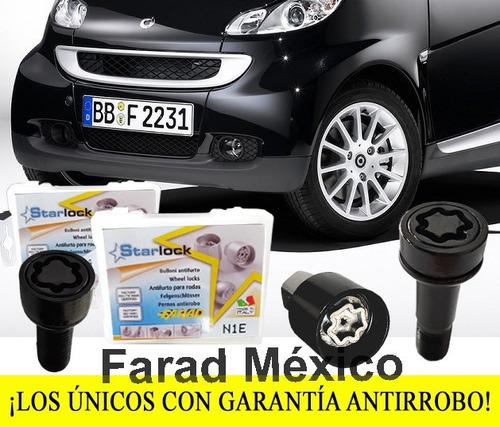 birlos seguridad smart fortwo pasion cabrio envío gratis