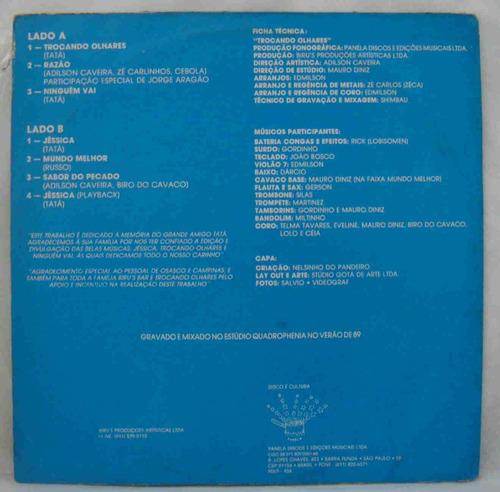 biro do cavaco & grupo destak lp trocando olhares 1989