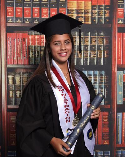 birretes y togas para graduación, túnica, bufanda, estola.