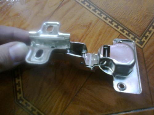 bisagra 35mm el par accesorios cocinas empotradas closet