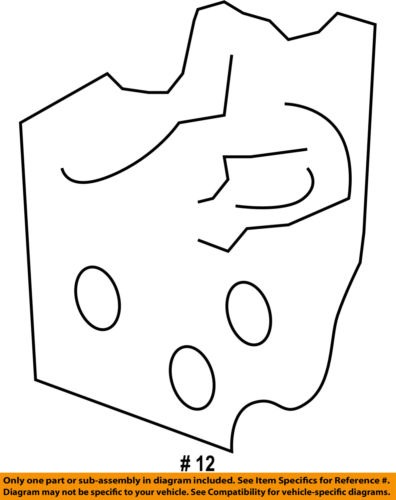 GM OEM-Door Hinge-Upper Left 25854415