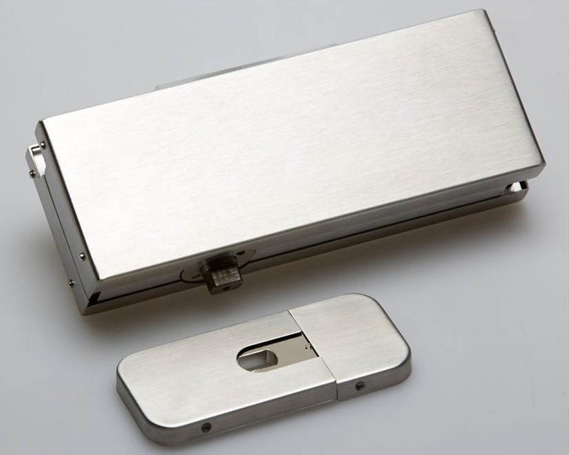 bisagra hidraulica para puerta de cristal vidrio de piso