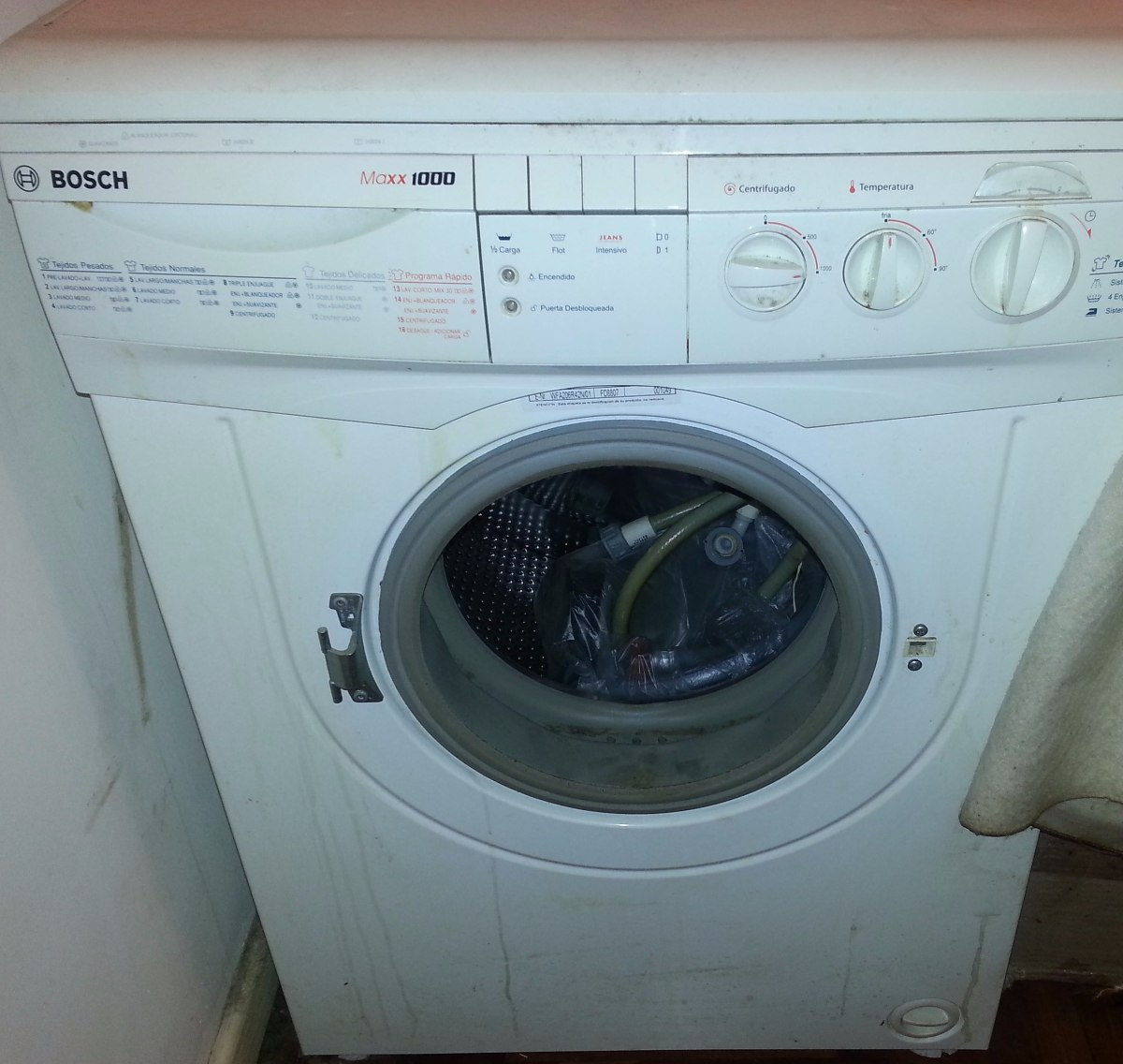 Mi lavadora bosch no centrifuga awesome acumulacin de for Como reparar una lavadora