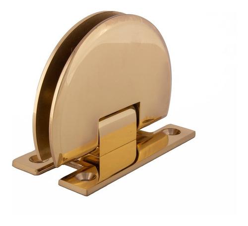 bisagra muro-vidrio para puerta de cristal crlaurence dorado