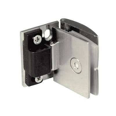 Bisagra para puerta abatible de cristal de 6mm brk 1121 for Bisagra cristal