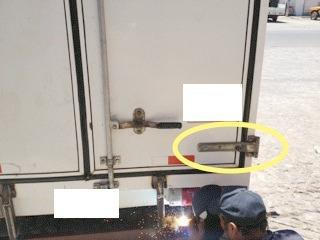 bisagra para puerta de caja seca,trailer, trucker,remolque