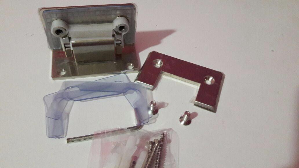 bisagra para puerta de cristal templado a mm