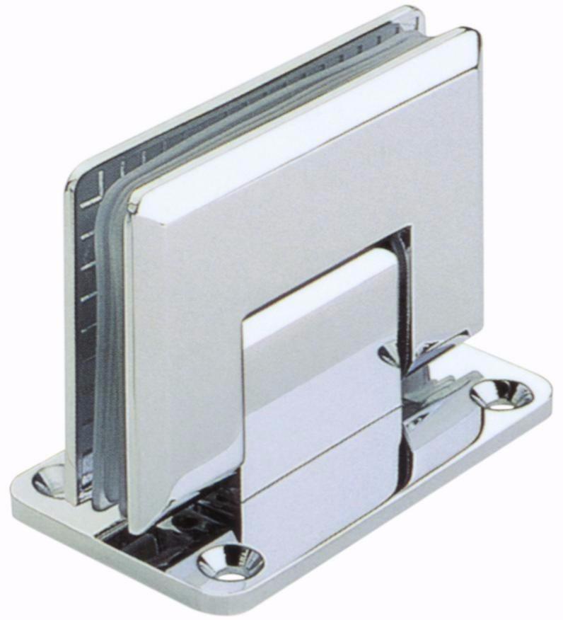 bisagra vidrio muro para cancel de cristal templado