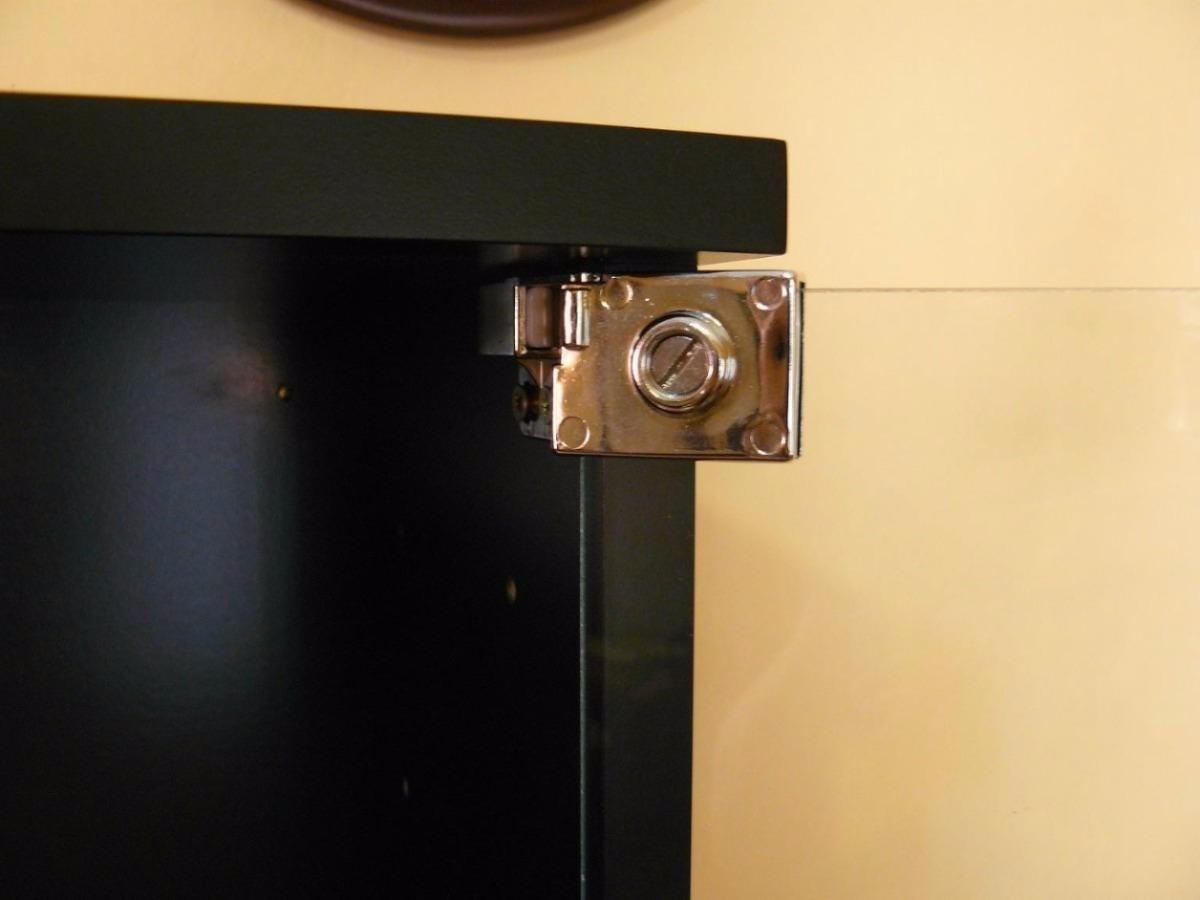 Bisagras Hafele P Puertas Vidrio Vitrina Exhibidor Envios  # Manijas Para Muebles Hafele
