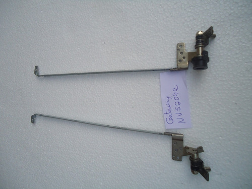 bisagras originales usadas de  laptop gateway nv5209e