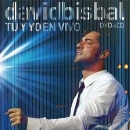 bisbal david tu y yo en vivo cd + dvd nuevo
