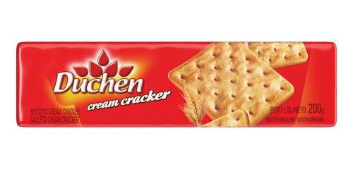 biscoito cream cracker duchen 200g 1 unidade