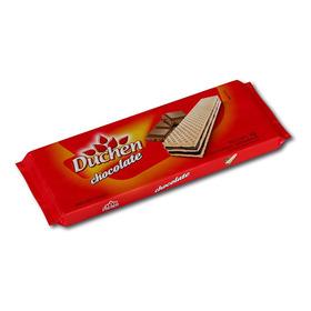 Biscoito Wafer Chocolate Duchen Atacado Caixa Com 40 Pacotes