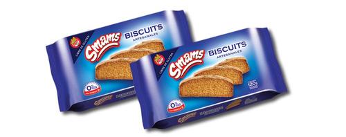biscuits libre de gluten smams x 2 cajas - riquísimos!!