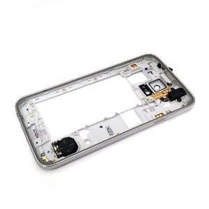 bisel marco carcaza intermedia frame samsung s5 g900m